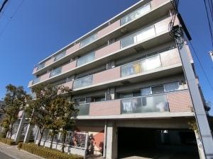 パレ北武庫之荘2本館の外観