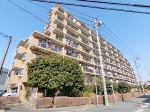 ライオンズマンション久米川第2二番館の外観