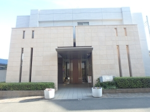 ライオンズヴィアーレ横濱ベイ壱番館の外観