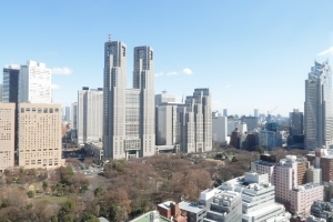 シティタワー新宿新都心の外観
