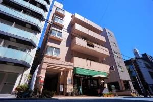 コスモ横浜シティスクエアの外観