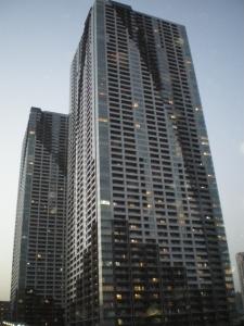 THE TOKYO TOWERS ミッドタワーの外観