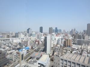 大阪ウエストゲートタワーの外観
