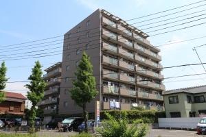 川崎平間ガーデンハウスの外観