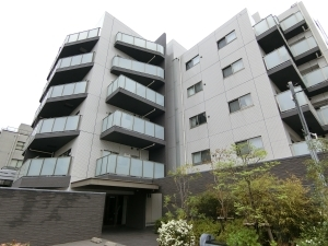 東京ハウス多摩川の外観