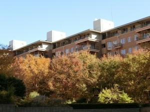 広尾ガーデンヒルズB棟の外観
