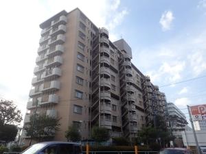東武西新井東口サンライトマンション A棟の外観