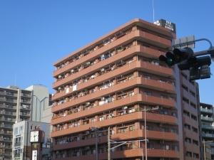 ダイアパレス横浜阪東橋の外観