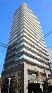ライオンズタワー大阪三の丸森ノ宮レジデンスの外観