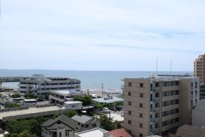 ライオンズタワー片瀬江ノ島の外観