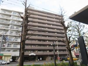 ベイシティコート横浜の外観