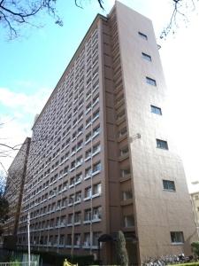 中津リバ-サイドコーポD棟の外観