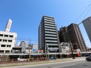 グランスイート阿倍野駅前ローレルコートの外観