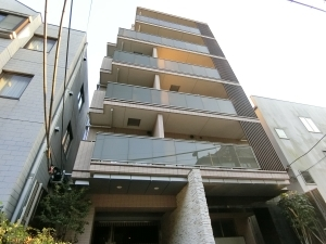THEパームス渋谷常盤松の外観