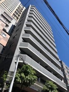 プロシード大阪城南の外観