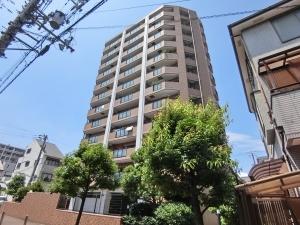 ライオンズマンション阿倍野阪南町第2の外観