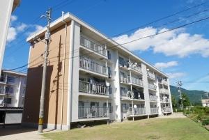 高陽ニュータウン第一分譲住宅C棟の外観