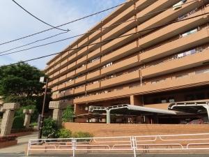 ライオンズガーデン横浜蒔田の外観