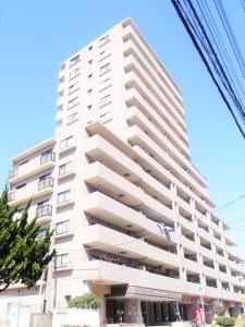 ライオンズマンション検見川浜の外観