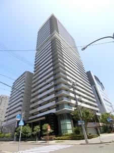 エルグレース神戸三宮タワーステージの外観