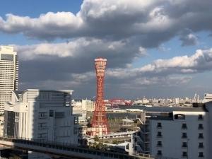 神戸ハーバータワーの外観
