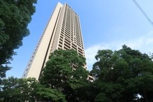 桜宮リバーシティ・ウォータータワープラザの外観