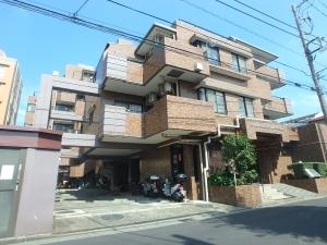 ライオンズマンション新川崎南の外観
