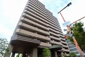 ライオンズマンション北梅田の外観