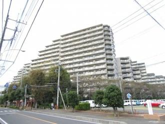 コープ野村クローバー・シティ与野壱番館の外観
