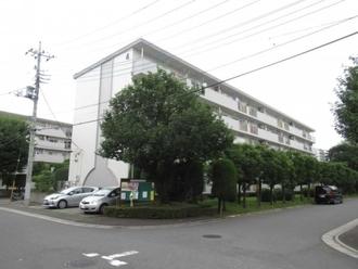 北浦和住宅4号棟の外観