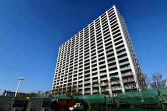 グランスイートブルー・ベイフロントタワーの外観