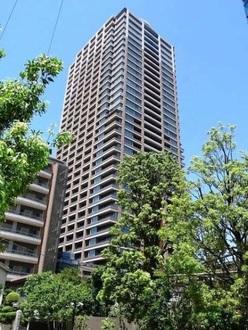パークコート麻布十番ザタワーの外観