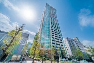 パークコート渋谷 ザタワーの外観