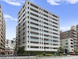 クリオ東神奈川の外観