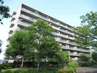 横浜星の丘ビューシティA棟の外観