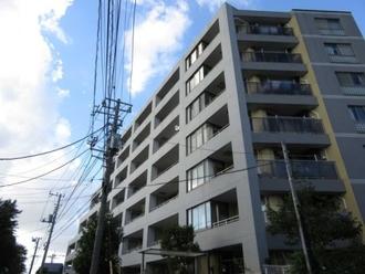 パークハウス横浜新子安の外観
