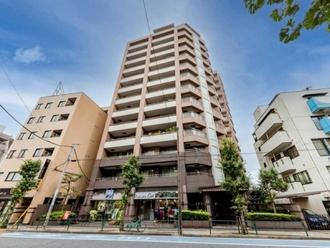 ハイセレサ田無本町シティタワーの外観