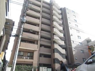クリオ京王多摩川壱番館の外観