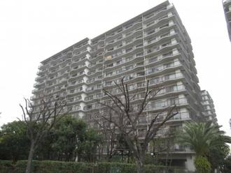パークシティ金沢八景A棟の外観
