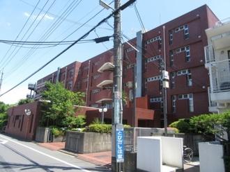 小金井ヘルスケアマンションA棟の外観