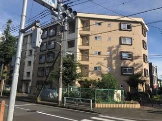 武蔵小金井スカイマンションの外観