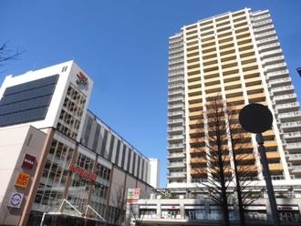プラウドタワー武蔵小金井の外観