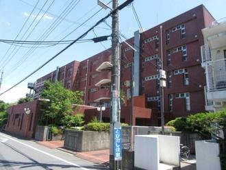小金井ヘルス・ケア・マンションA棟の外観