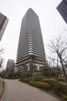 リエトコート武蔵小杉ザ・クラッシィタワーの外観