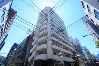 リリーゼ東京新富町の外観