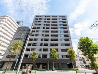 クレヴィア東京八丁堀 湊 ザ・レジデンスの外観