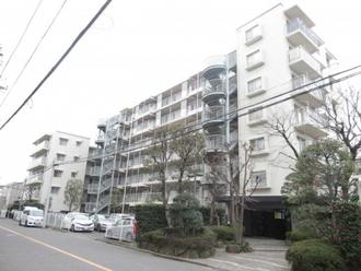 サンマンション川口弐番館の外観