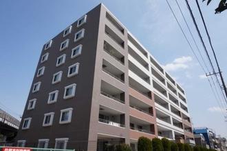 エクセレントシティ武蔵新城ブランルージュの外観