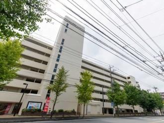宮崎台バースビレッジA棟の外観