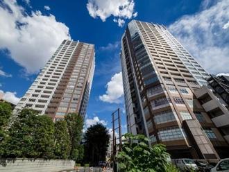 武蔵野タワーズスカイゲートタワーの外観